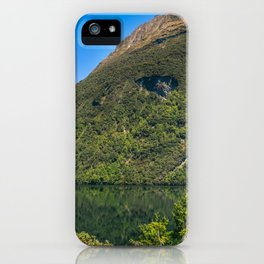 Beautiful Reflections at Lake Gunn, NZ iPhone Case