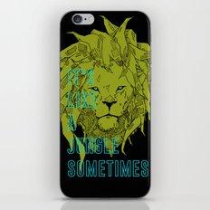 It's Like a Jungle Sometimes... iPhone & iPod Skin