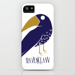Cute and Smart Ravenclaw iPhone Case