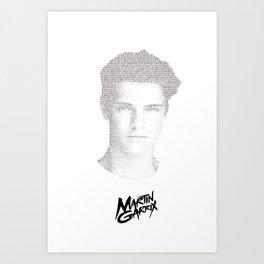 Martin Garrix Art Print