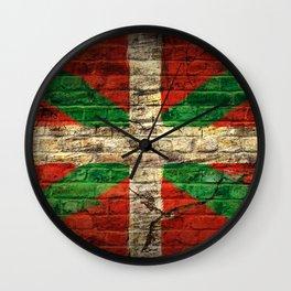 Ikurriña Wall Clock