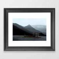 In the gloaming Framed Art Print