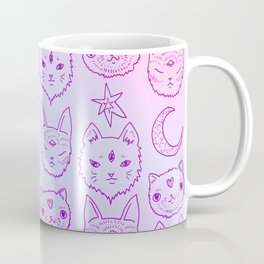 Kitty Mystics in Pink Coffee Mug