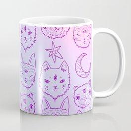 Kitty Mystics in Pink Coffee Mug