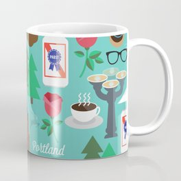 PDX patten Coffee Mug