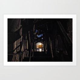 Under The Bridge // 2 Art Print