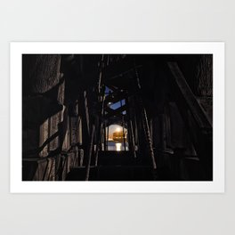 Under The Bridge // 2 Art Print