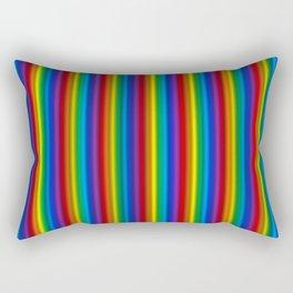 Vertical Rainbow  Rectangular Pillow