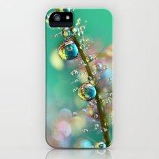 Smokey Rainbow Drops Slim Case iPhone (5, 5s)