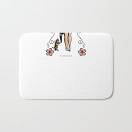 Kitty & Pin up Bath Mat