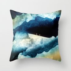 State of isolation Throw Pillow