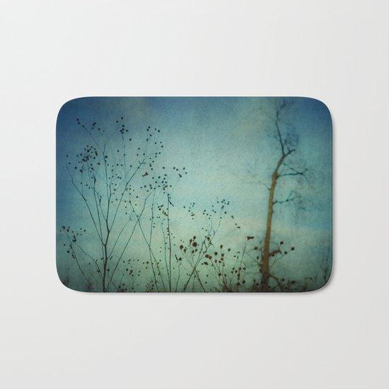 Fleeting Moment - Blue Shades Bath Mat