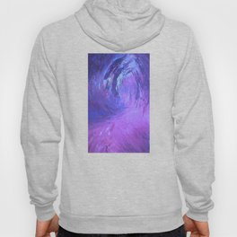 Abstract Blue Storm  by Robert S. Lee Hoody