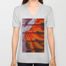 Abstract Sun Blast Unisex V-Neck