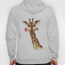 Girafe de Noël Hoody