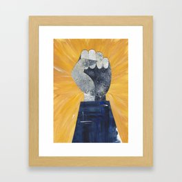 #feelingnuts Framed Art Print