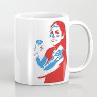 feminism Mugs featuring Feminism by DebbieHughes