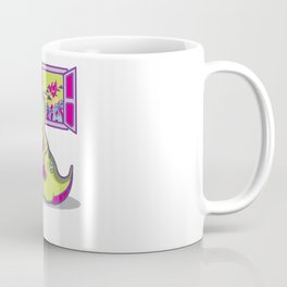 Dinosaur Gamer Comet Gaming Dino Present Gift Coffee Mug
