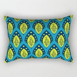 Peacock Patterns Rectangular Pillow