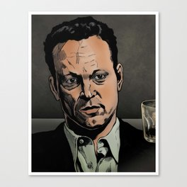 Vince Vaughn art Canvas Print