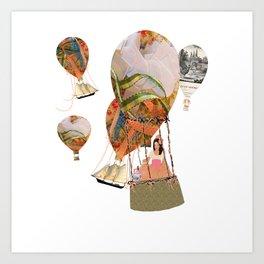 Hot Air Balloon Dream Art Print