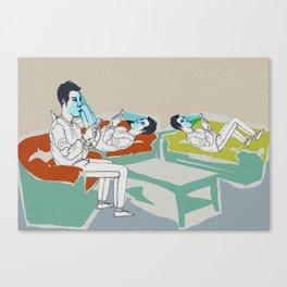 smart ZOMBIE series-3 Canvas Print