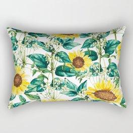 Sunflower Valley #society6 #decor #buyart #83oranges Rectangular Pillow