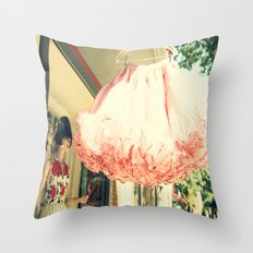 Crinoline Skirt  Throw Pillow