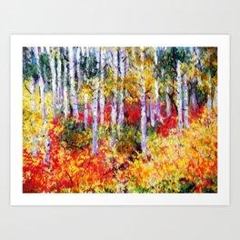Title: Glorious Autumn Colors  Art Print