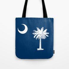 Flag of South Carolina - High Quality image Tote Bag
