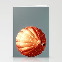 baloon Stationery Cards featuring Strawberry hot air baloon by Wood-n-Images