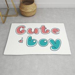 cute boy Rug