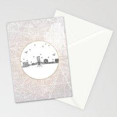 Tallahassee, Florida City Skyline Stationery Cards