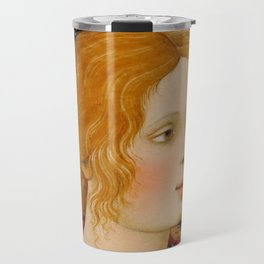 "Alessandro Botticelli ""Christ with Saint John the Baptist"" detail 2. Travel Mug"