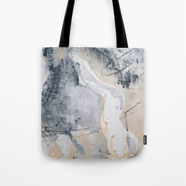 As Restless as the Sea: a minimal abstract painting by Alyssa Hamilton Art Tote Bag