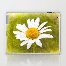 Single Daisy Watercolor Art Laptop & iPad Skin