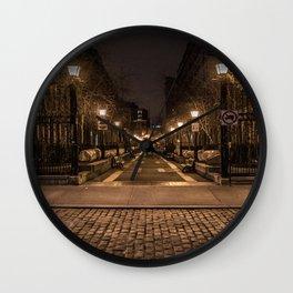 Cobblestone Saunter Wall Clock