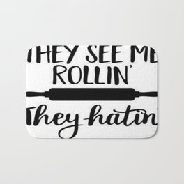 They See Me Rollin' Bath Mat
