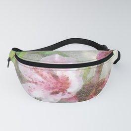 Fading Peach Blossom Watercolor Fanny Pack