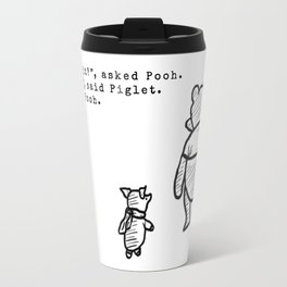 Pooh and Piglet Travel Mug