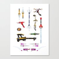 arsenal Canvas Prints featuring Arsenal by Ranger Danger