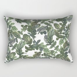 Beetroot Leaves Rectangular Pillow