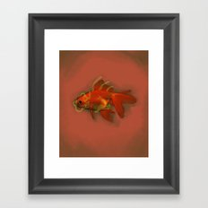 goldpunk Framed Art Print