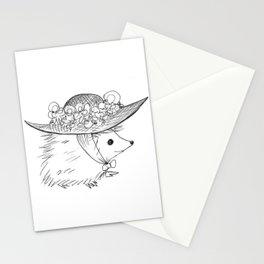 Hedgehog in a Hat Stationery Cards