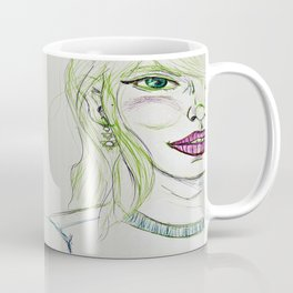 Fancy Girl Coffee Mugs | Society6