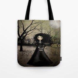 Goth Girl Steampunk Art - Steampunk Alchemy Tote Bag