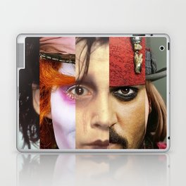 Faces Johnny Depp Laptop & iPad Skin