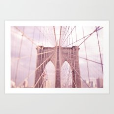 the lady from brooklyn Art Print