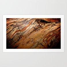 Our Earth. Art Print