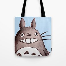 My Neighbor Totoro Illustration Tote Bag
